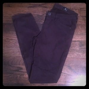 AG Adriano Goldschmied Mid-Rise Cigarette Pant